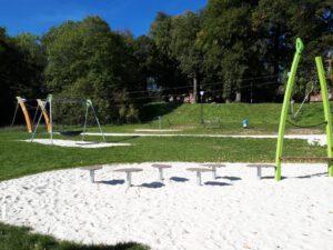 Beschattung: L-Quartier Spielplatz